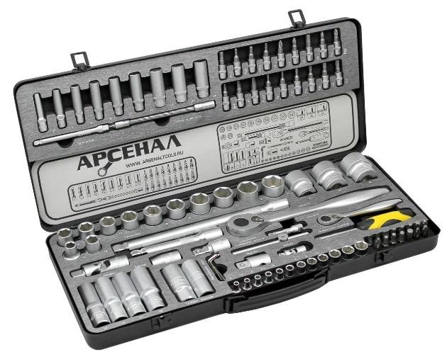 набор инструмента арсенал c1412k82