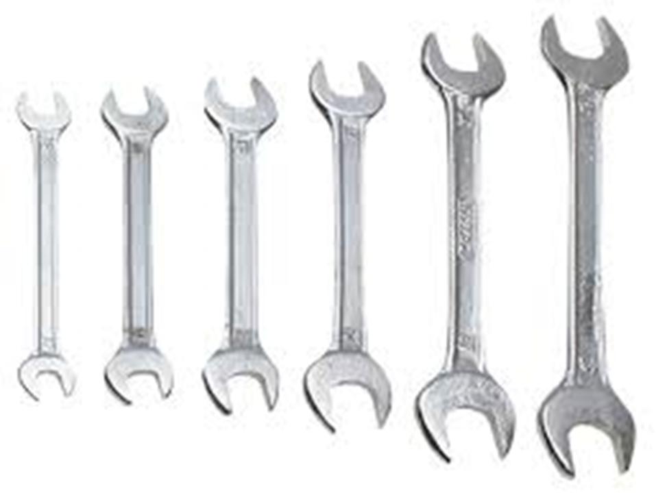 Ключи слесарные слесарно-монтажные