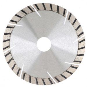 Алмазный диск: турбосегментный