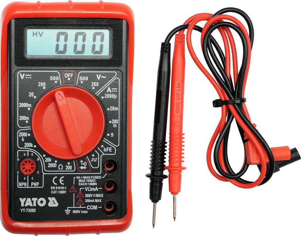 Инструмент электрика: мультиметр