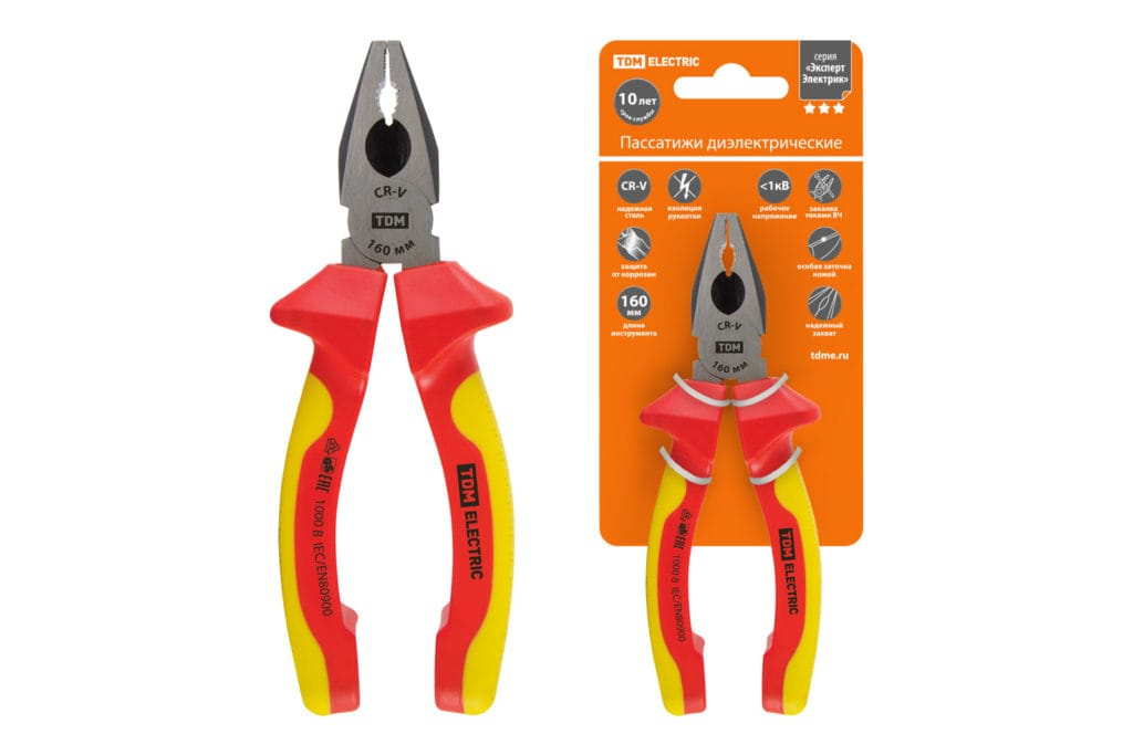 Инструмент электрика: пассатижи или плоскогубцы