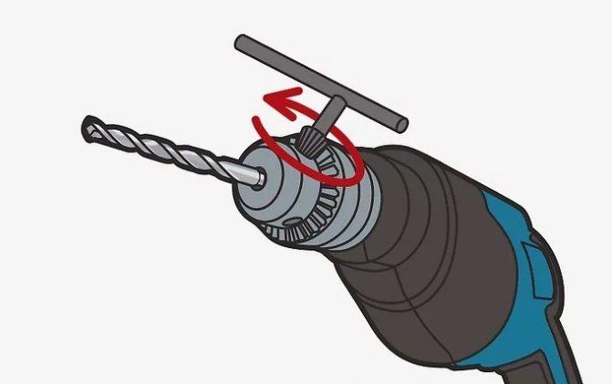 Как в дрель вставить сверло